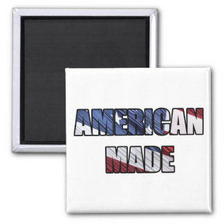 American Made Patriotic Red White and Blue US Flag Magnet