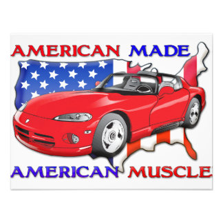 American Made Sports Car Announcements