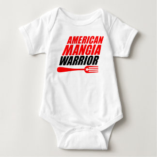American Mangia Warrior baby body suit Baby Bodysuit