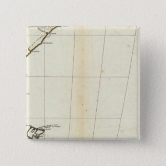 American Map Engraved South Section 15 Cm Square Badge
