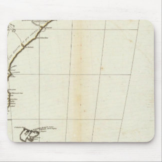 American Map Engraved South Section Mouse Mat