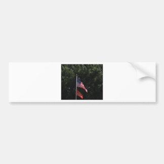 American Marines Flag Bumper Sticker