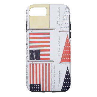American Maritime Flags and Pennants, from a Frenc iPhone 8/7 Case