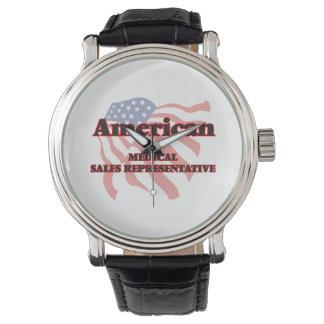 American Medical Sales Representative Wrist Watch