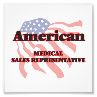 American Medical Sales Representative Photographic Print