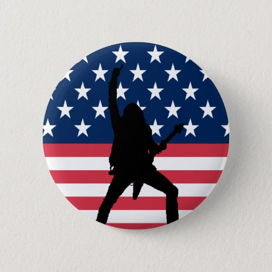 American Metal Button