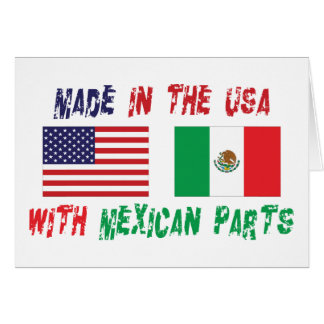 American Mexican American Card