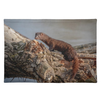 American Mink Placemat