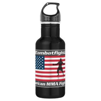 American MMA Fighter Aluminum 32oz 532 Ml Water Bottle