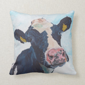 American MoJo Pillows - 0254 Irish Friesian Cow