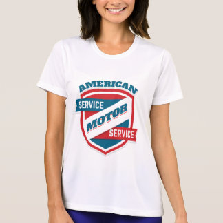 American Motor Service. Vintage Americana. T-Shirt