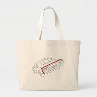 American muscle car tote bags