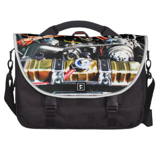 American Muscle Car Engine Bag For Laptop