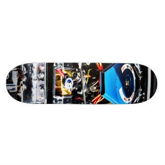 American Muscle Car Engine Custom Skate Board
