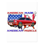 American Muscle Car Post Cards