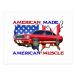 American Muscle Car Postcards