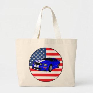 American Muscle Car Jumbo Tote Bag
