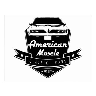American Muscle Trans Am Postcard