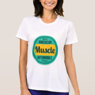 American Muscle. Vintage Americana. T-Shirt