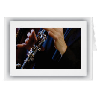 American Music Clarinet, Notecard
