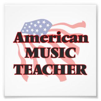 American Music Teacher Photographic Print