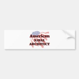 American Naval Architect Bumper Sticker