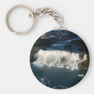American Niagara Falls: Aerial View from Skylon Key Ring