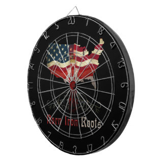 American Northern Irish Ancestry Dart Board