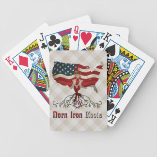 American Northern Irish Roots Playing Cards