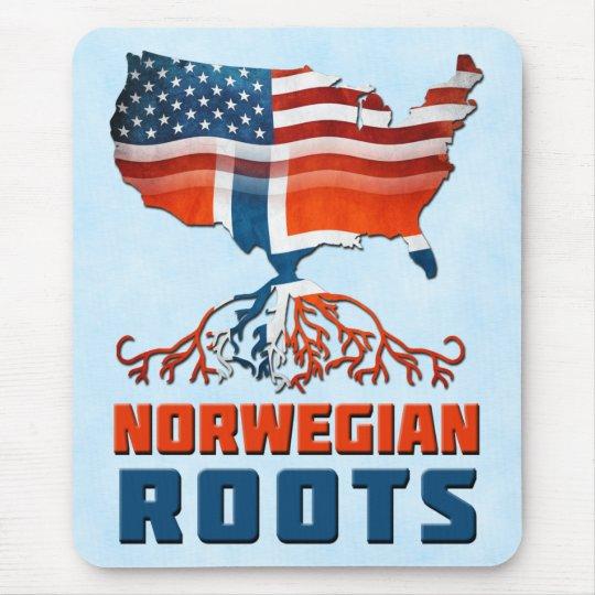 American Norwegian Roots Mousemat