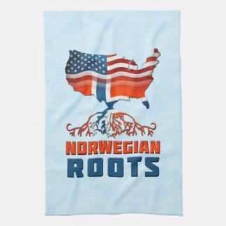 American Norwegian Roots Tea Towels