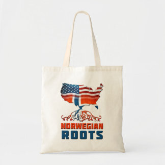 American Norwegian Roots Tote Bag