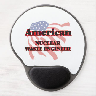 American Nuclear Waste Engineer Gel Mouse Pad