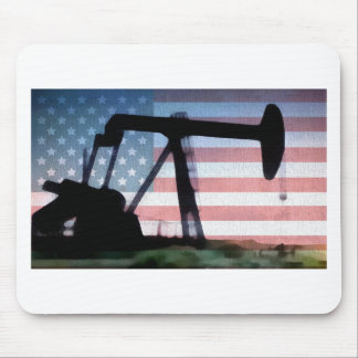 American Oil Mouse Mat