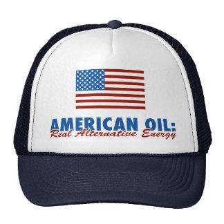 American Oil: Real Alternative Energy Trucker Hat