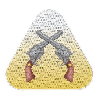 American Old West Revolvers Crossed Vintage