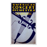 American Orchestra 1936 WPA Poster