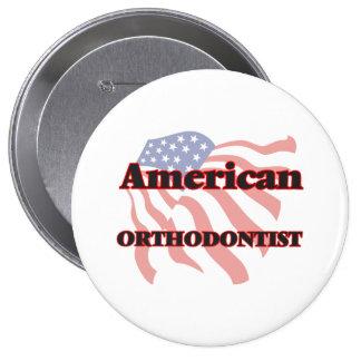 American Orthodontist 10 Cm Round Badge