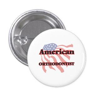 American Orthodontist 3 Cm Round Badge