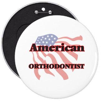 American Orthodontist 6 Cm Round Badge