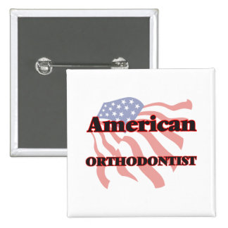 American Orthodontist 15 Cm Square Badge