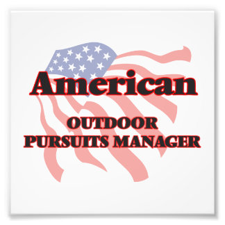 American Outdoor Pursuits Manager Photo Print