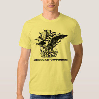 AMERICAN OUTDOORS TEE SHIRTS