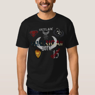 AMERICAN OUTLAW BY BOTW GEAR T-SHIRT