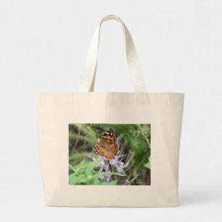 American Painted Lady Jumbo Tote Bag