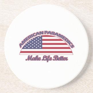 american Paramedics designs Coaster