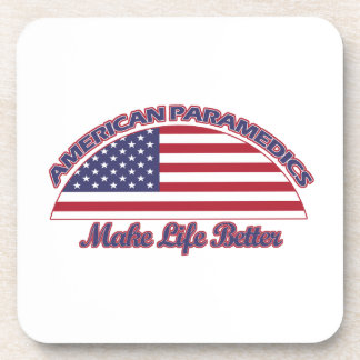 american Paramedics designs Drink Coaster