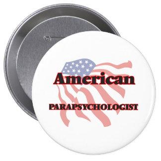 American Parapsychologist 10 Cm Round Badge