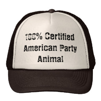 American party animal cap