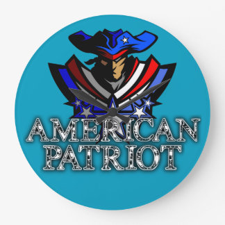 American Patriot Clock